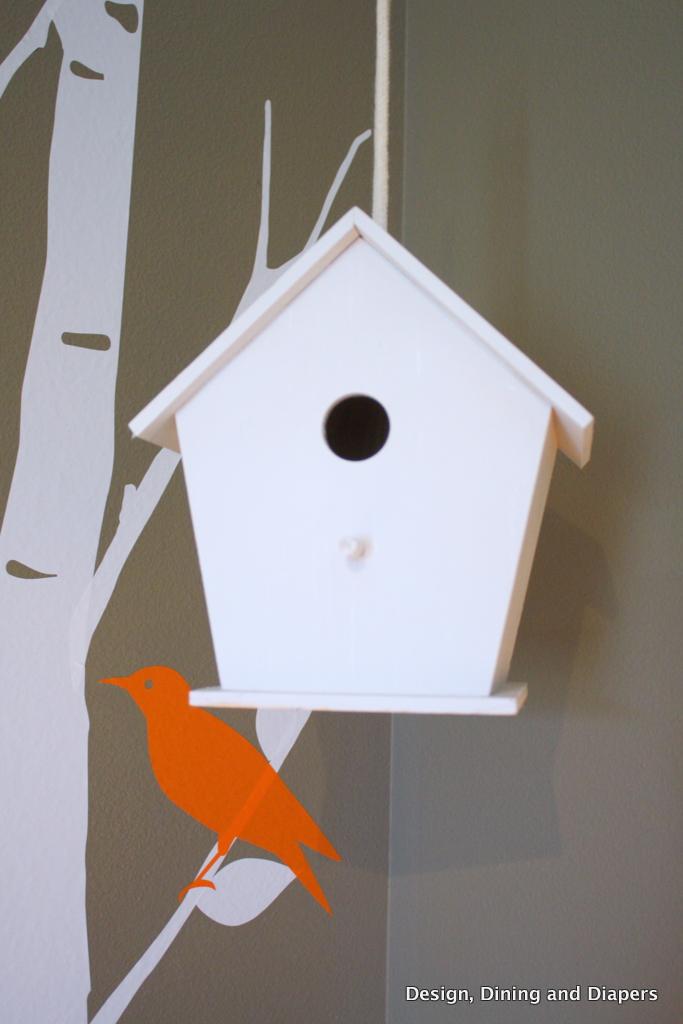 Baby E S Modern Bird Inspired Nursery Taryn Whiteaker