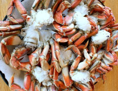 crab, dungeness crab, fresh crab