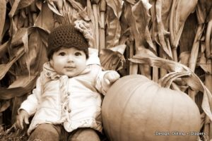 Family Outing to the Pumpkin Patch