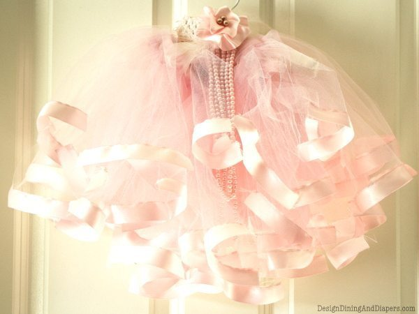 Pink Tutu for Baby Girl by Design, Dining + Diapers, tutu tutorial, DIY tutu, baby photo ideas