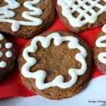 Gluten Free Frosted Ginger Cookies
