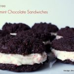 Gluten-Free Peppermint Chocolate Sandwich Cookies