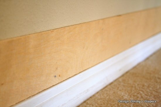 mdf or plywood for wainscoting 3