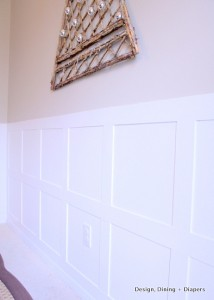 My Board & Batten Wainscoting Reveal and How To