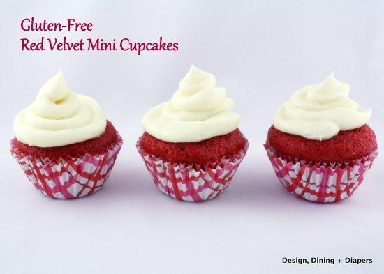 Gluten Free Red Velvet Mini Cupcakes Taryn Whiteaker