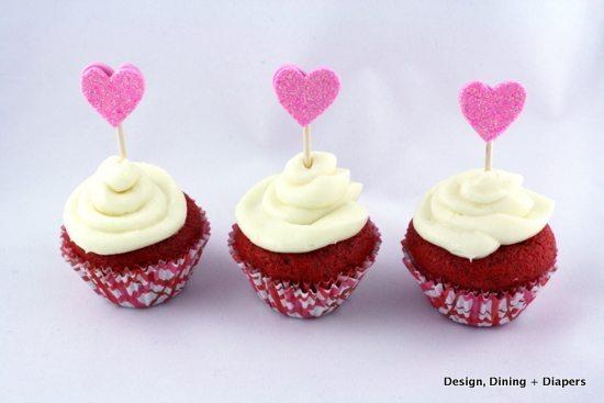 Gluten-Free Red Velvet Mini Cupcakes