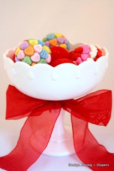 Edible Valentine's Day Decor