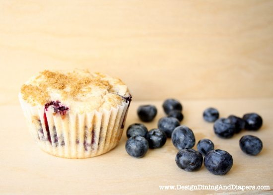 blueberry muffins, gluten-free