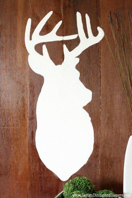 DIY Deer Silhouette