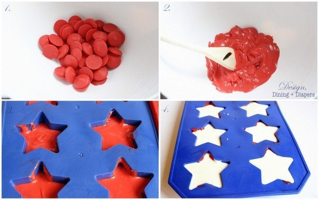 Patriotic Chocolate Stars