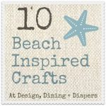 Beach Crafts Button