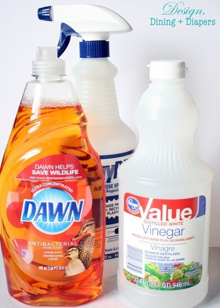 Pinterest Cleaning Tip Tested DIY Dawn Shower Cleaner Taryn Whiteaker