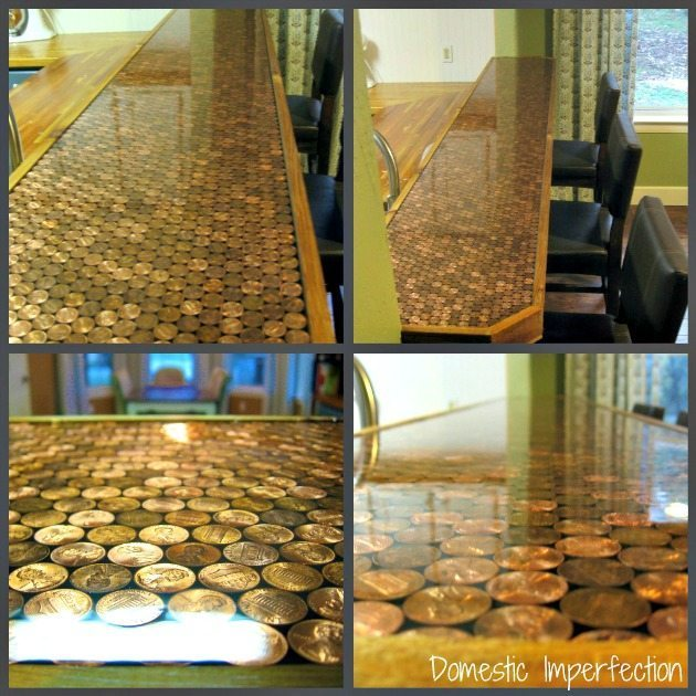 Top 10 Tuesday 10 Ways To Decorate With Pennies