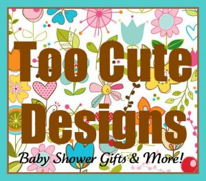 Giveaway Wednesday: Motorcycle Diaper Cake from Too Cute Designs