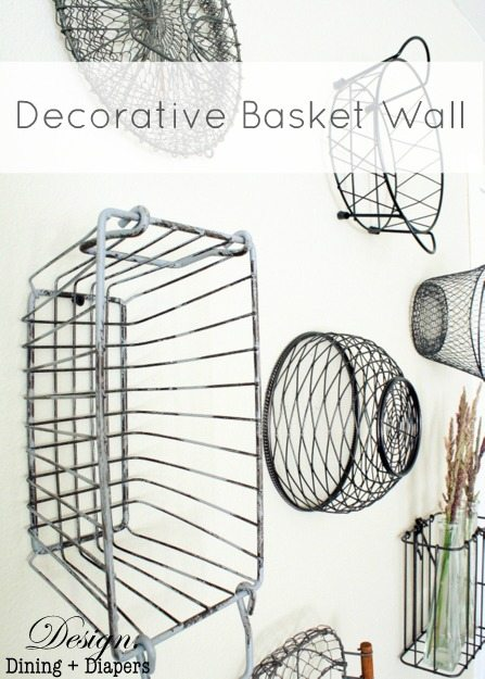 Decorative Basket Wall