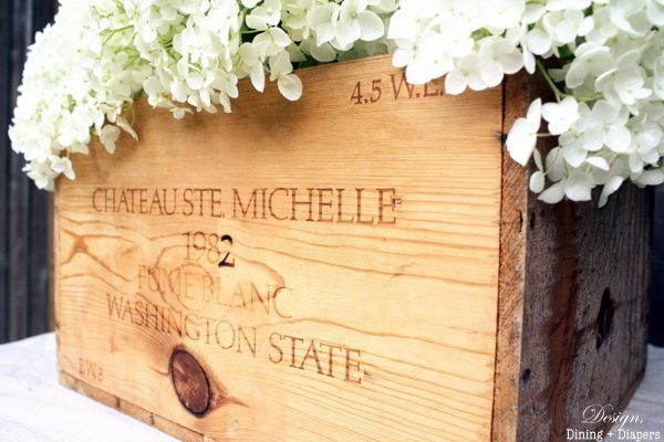 Wine Crate Planter