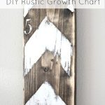 DIY Rustic Growth Chart