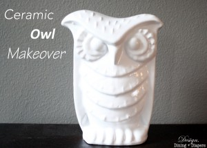 Ceramic Owl Makeover