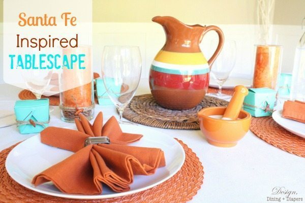 Santa Fe Tablescape