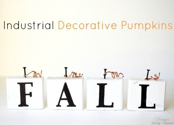 Industrial Decorative Pumpkins