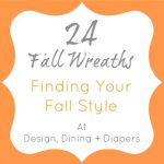 fall wreath inspiration, fall wreath ideas