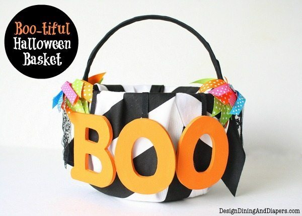 Boo-tiful Halloween Basket by Design, Dining + Diapers