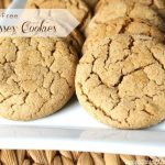 Simple Gluten-Free Molasses Cookies