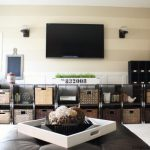 DIY Family Room Makeover by Design, Dining + Diapers