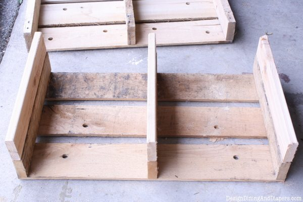 How To Build a Media Center Out of Pallets, pallet art, pallet drawers, pallet storage unit, DIY pallet projects, uses for a pallet, decorative pallets, rustic family room, rustic decor