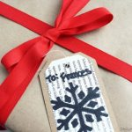 Handmade Sharpie Gift Tags