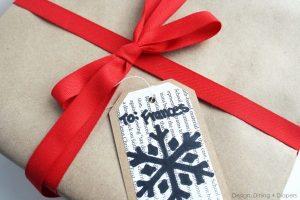 Handmade Sharpie Gift Tags