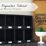 Mail Organizer Tutorial by Design, Dining + Diapers