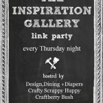 Inspiration Gallery Link Party #26