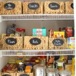 New Pantry Organization