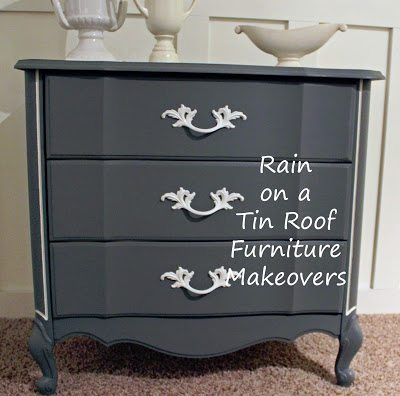 Gray End Table 2
