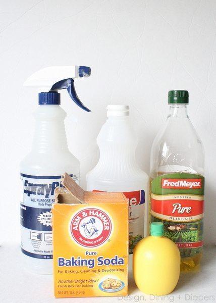 Natural Kitchen Sink Cleaner