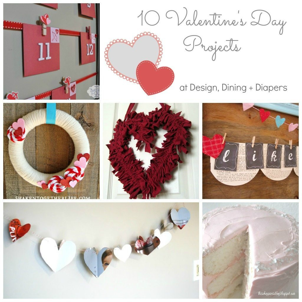 Valentine's Day Collage