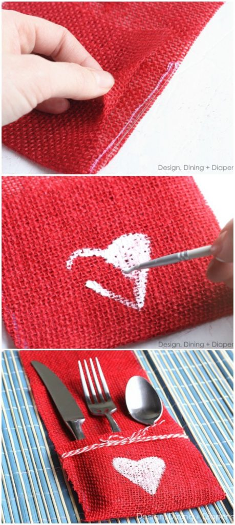 valentines-day-utensil-holder