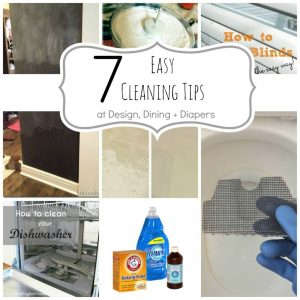 7 Easy Cleaning Tips