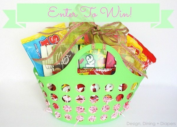 Design, Dining + Diapers Basket