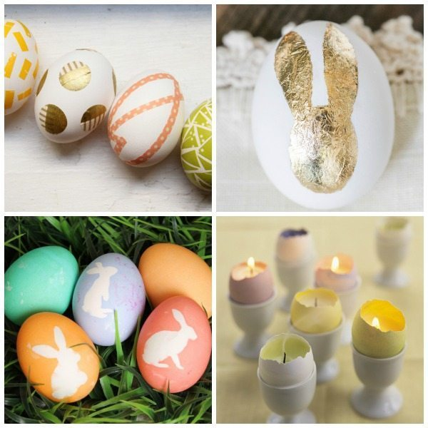 20 Decorative Easter Egg Ideas at Design, Dining + Diapers, diy easter eggs, colorful eggs, easter egg ideas