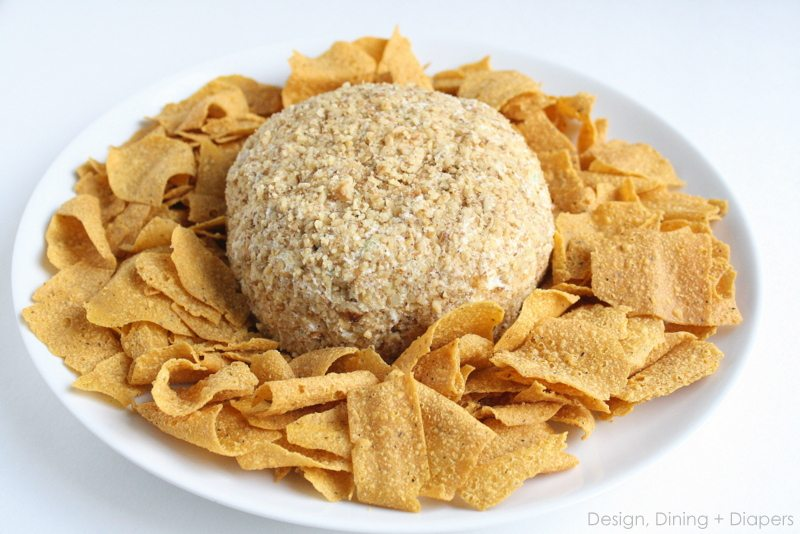 Cream Cheese Ball recipe by Design, Dining + Diapers