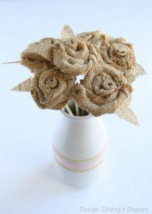 Burlap Bouquet Tutorial