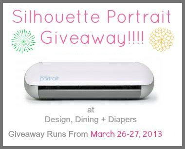 Silhouette Portrait Giveaway March