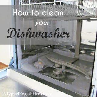 cleandishwasherbicarbvinegar