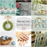 Spring Decor Ideas (Link Party Features)