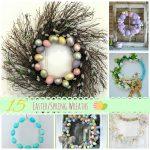15 Spring Wreaths (Link Party Features)