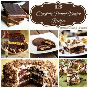 13 Chocolate Peanut Butter Recipes
