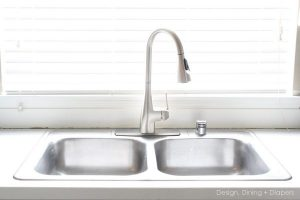 Kitchen Update: Installing a New Moen Faucet