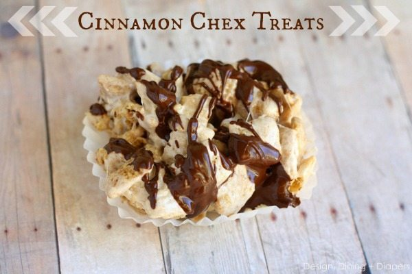 Cinnamon Chex Treats by Designdininganddiapers.com